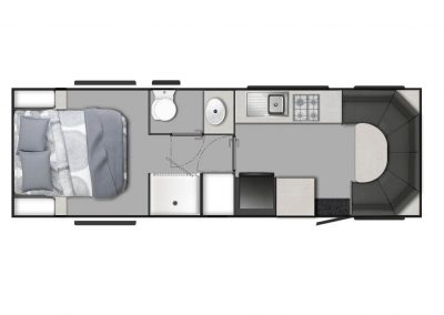 "24'0"" Rear Club Lounge"